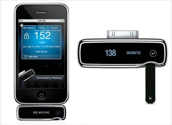 Nuevo iPod con glucómetro incluído