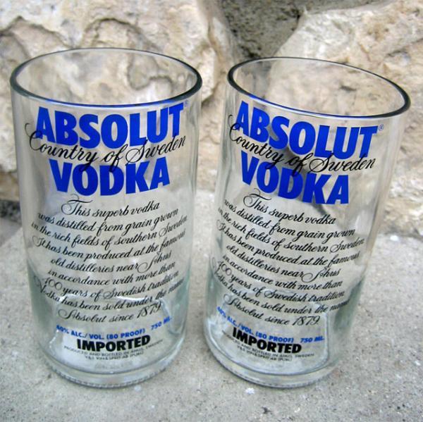 Reciclar botellas de vidrio y transformarlas en vasos for Reciclar botellas de vidrio