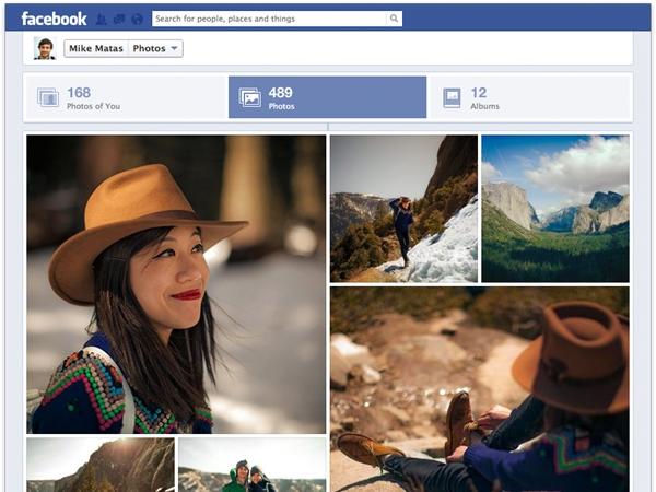 Facebook cambia la sección de fotos