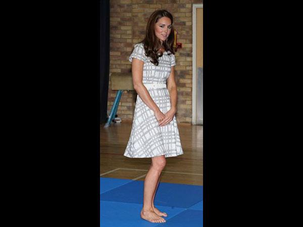 Kate Middleton olvidó hacerse la pidicure - Fotos