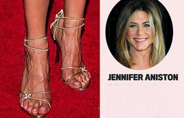 Famosas bellas sin 'pies de princesas'