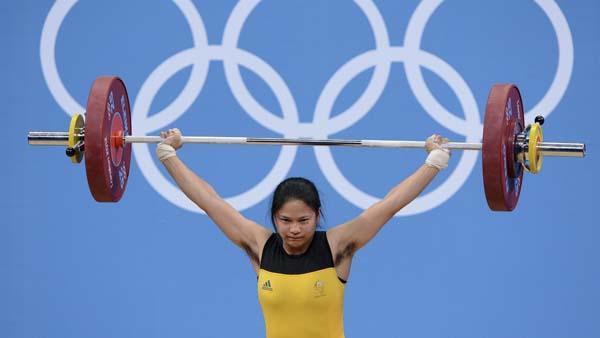 Fotos de la pesista peluda de los Juegos Olímpicos