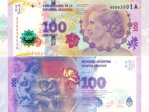 Cómo reconocer un billete de 100 pesos de Evita auténtico