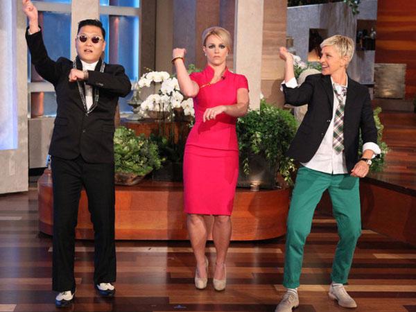 Video: Britney Spears baila el 'Gangnam Style'