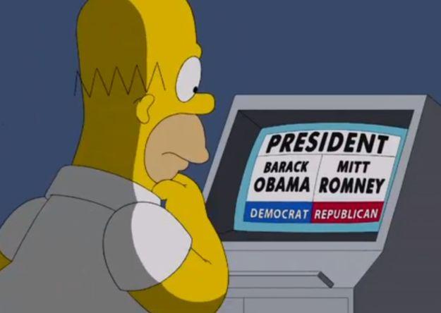 Video: ¿A quién votará Homero Simpson en las elecciones?