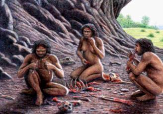 El homo antecesor comía niños de otros grupos