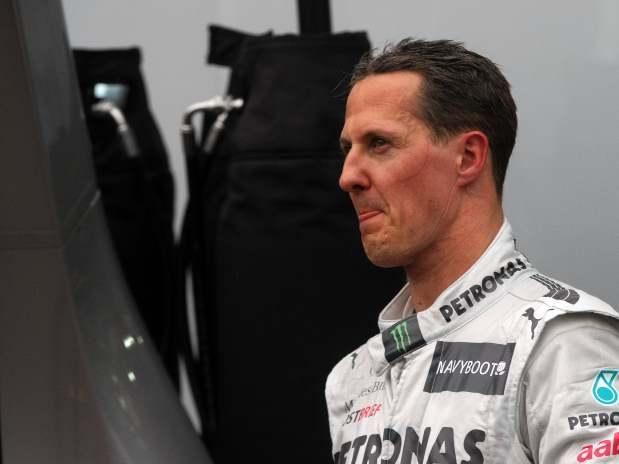 El peor momento de Michael Schumacher - Video