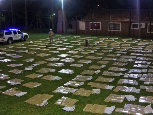 Policías roban un cargamento de drogas que debían custodiar