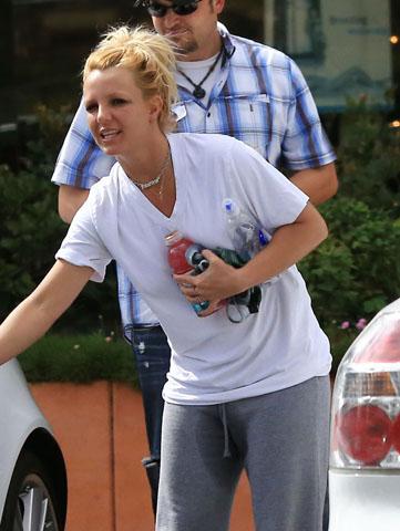 ¿Britney Spears se hizo pis? Fotos