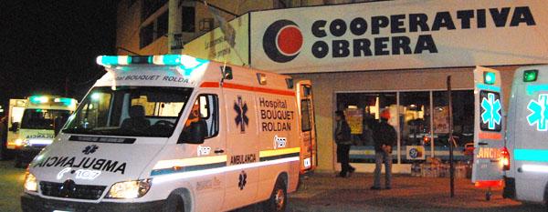 5 muertos y 9 desaparecidos al caer el techo de un súper en Neuquén