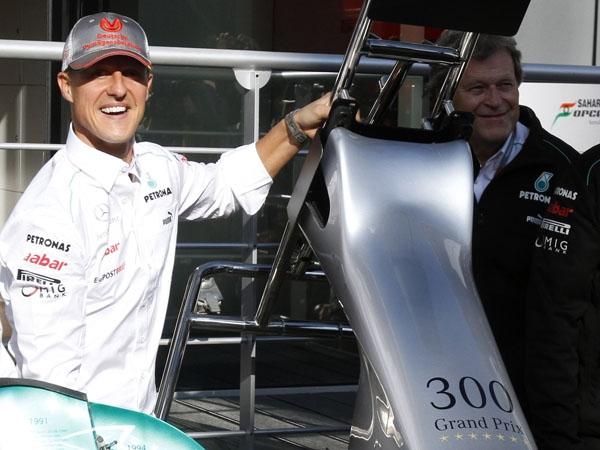 Michael Schumacher renuncia a la Fórmula 1