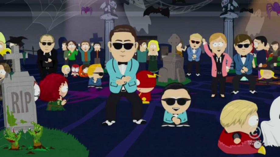 Video: South Park baila el 'Gangnam style'