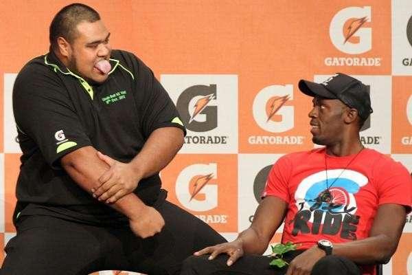 Video: La reacción de Usaín Bolt ante la bienvenida Maori