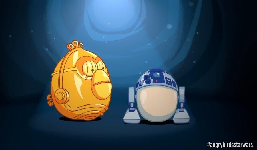 Video: Cómo es 'Angry Birds Star wars'