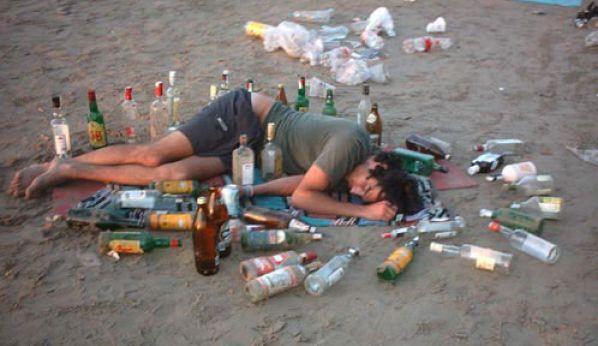 A la venta el parche para poder tomar alcohol ain tener resaca
