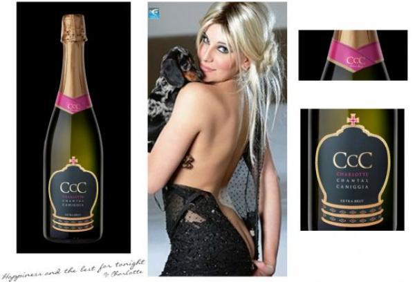 Charlotte Caniggia lanza marca de champagne