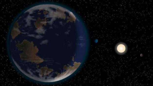 Descubren un planeta habitable fuera del Sistema Solar
