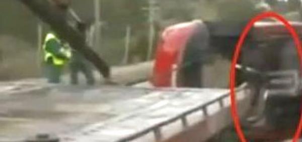 Video increíble: Alma abandona el cuerpo del recién fallecido