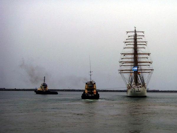 La Fragata Libertad emprende regreso a la Argentina