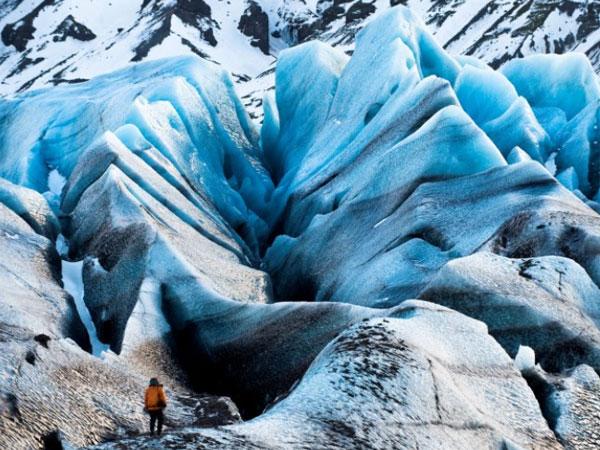 Video asombroso: La ruptura de glaciar más grande