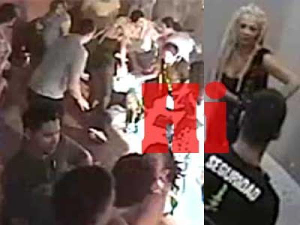 Video escándalo: Tamara Paganini a las piñas en un bar