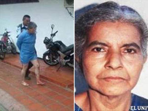 Un hombre desmembró a su madre para 'salvar' a Chávez