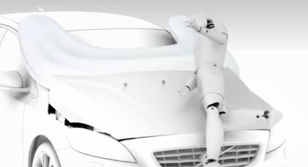 Video: Así funciona el airbag para peatones