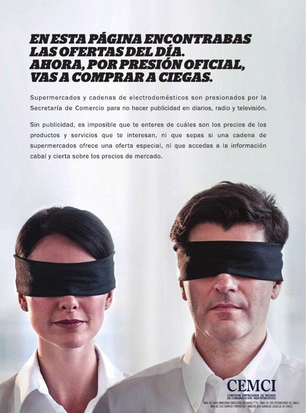 El Gobierno censura publicidad de supermercados y cadenas de electrodomésticos