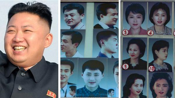 Fotos: éstos son los cortes de pelo aprobados por Corea del Norte
