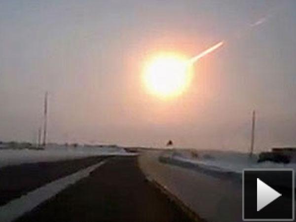 Los videos más impactatntes del meteorito caído en Rusia