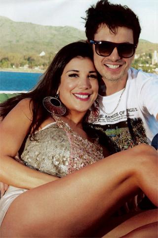 Andrea Rincón y Ale Sergi terminan relación