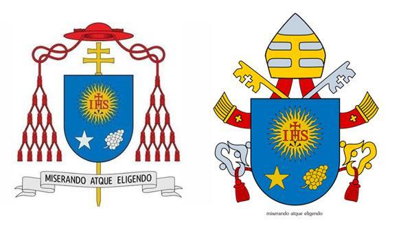 Éste es el escudo del Papa Francisco - Fotos y significado