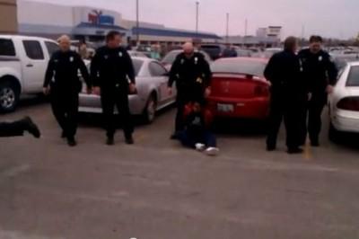 Video estremecedor: Policía da descarga eléctrica a embarazada