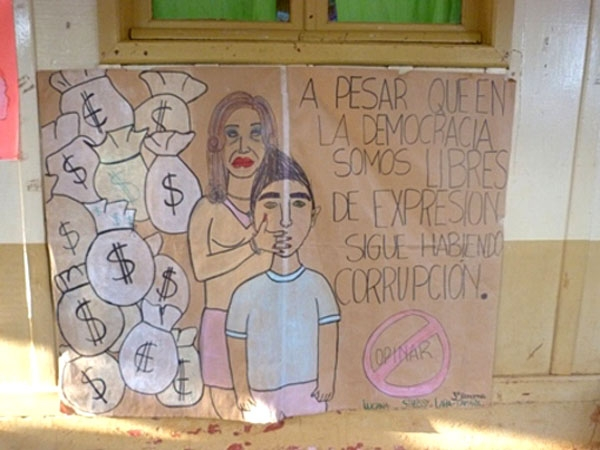 Escándalo: Alumnos injurian a Cristina Kirchner