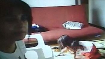 Video indignante: Niñera maltrata y golpea a niña