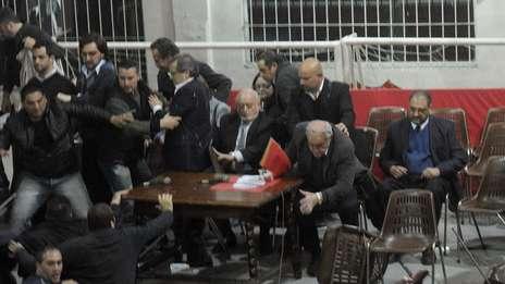 Video: Al presidente de Independiente Javier Cantero