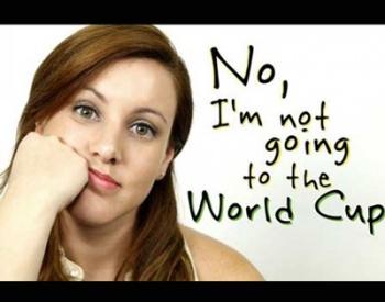 Video: Brasilera intenta boicotear la Copa del Mundo
