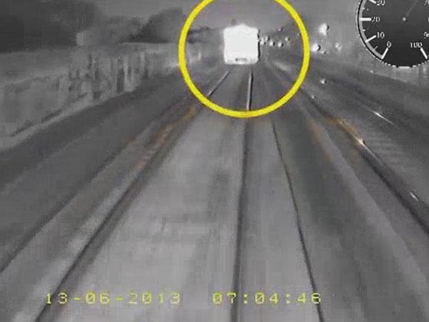 El video de choque de trenes en Castelar