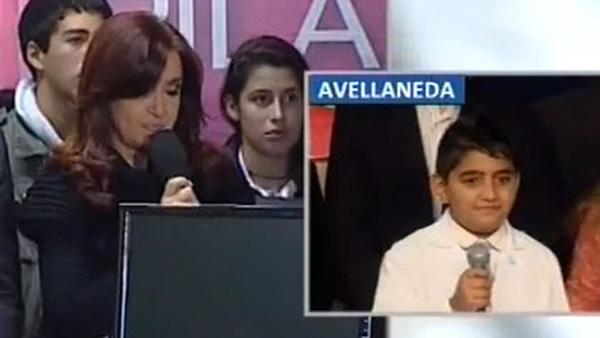 Video: la respuesta que Cristina Kirchner no esperaba