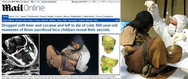 Hallan niños momificados en Salta - Fotos