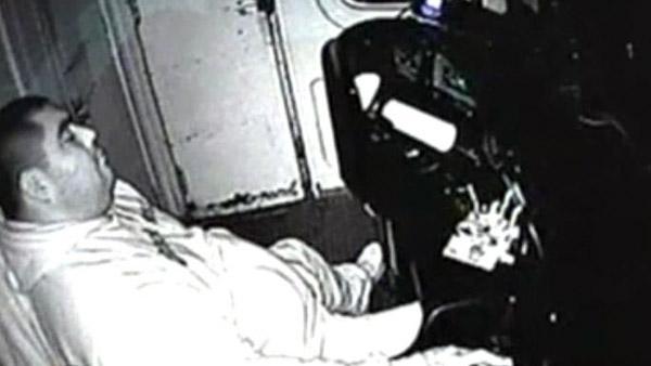Terrible video de los maquinistas de trenes