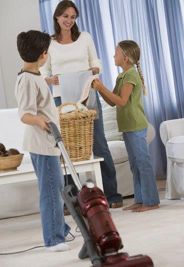 Cómo hacer que los niños colaboren en el hogar