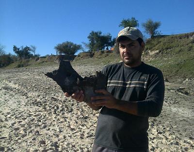Hallan fósiles milenarios de pueblos originarios