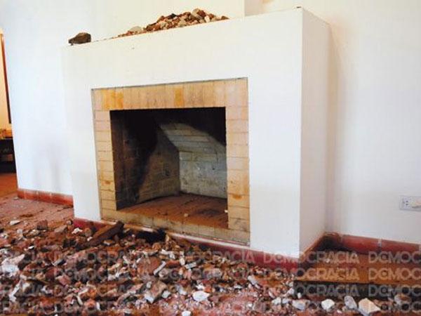 Ladrón murió atascado en chimenea en intento de robo